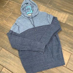 Men's Gap knit hooded sweatshirt